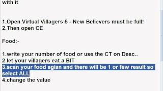 Virtual Villagers 5 - New Believers Cheat Engine Hack