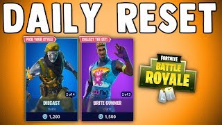 FORTNITE DAILY SKIN RESET - SO MANY SKINS!! Fortnite Battle Royale New Items in Item Shop