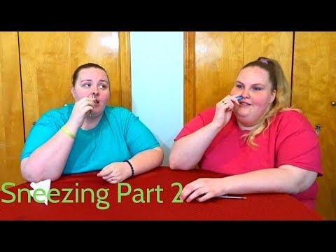 Sneezing Challenge Part 2