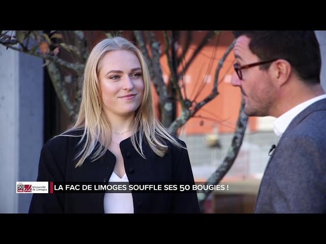 Les 50 ans de l'université de Limoges - PARTIE 3