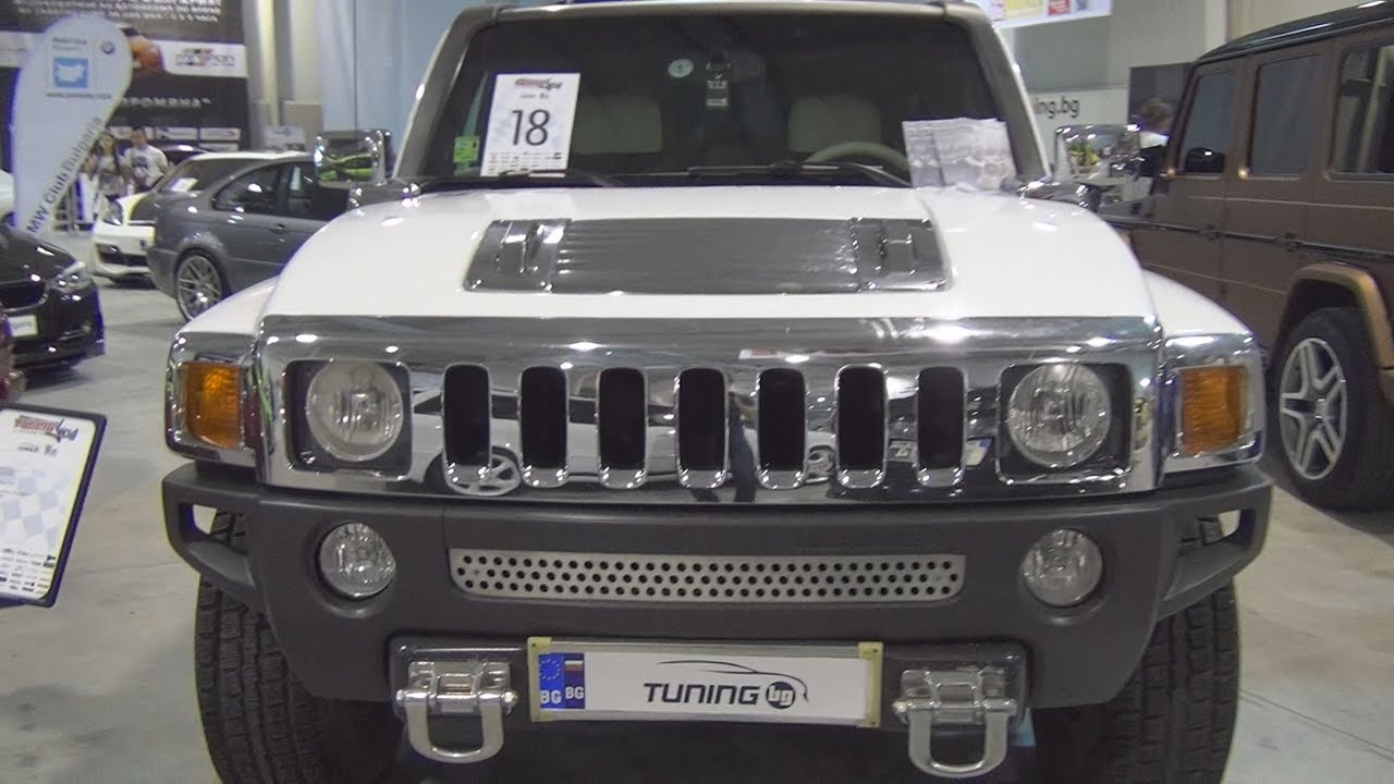 Hummer H3 Tuned Exterior and Interior - YouTube