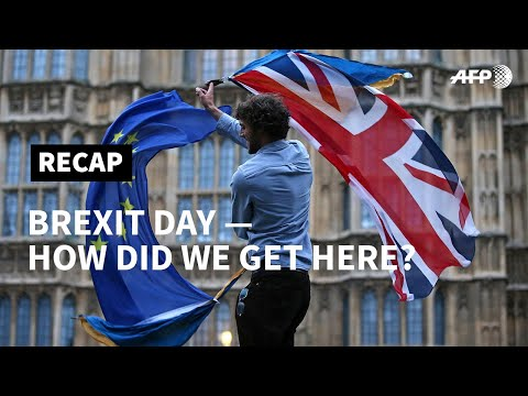 Brexit Day: Britain
