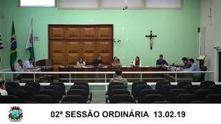 Sessão da Câmara  13.02.19