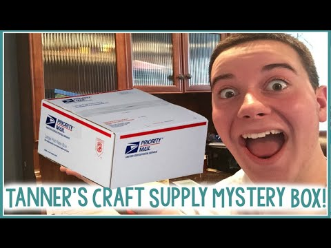 Craft Supply Mystery Boxes