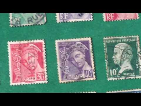 FRANCE HERITAGE STAMP SOME ARE RARE- A SOWING SEED