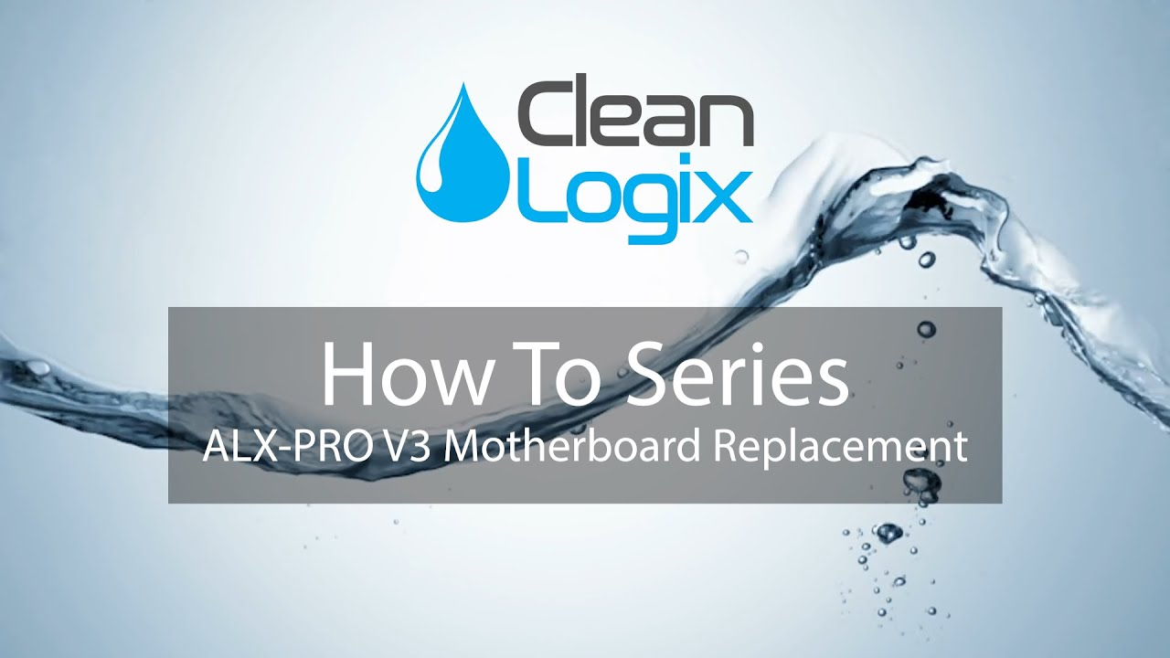 How To Replace the Motherboard on an ALX-PRO V3