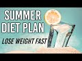 Summer Diet Plan   How To Lose Weight Fast 15 Kgs in 10 Days