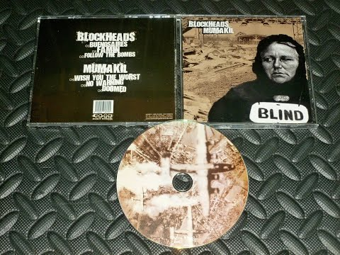 BLOCKHEADS / MUMAKIL split CD (2008)