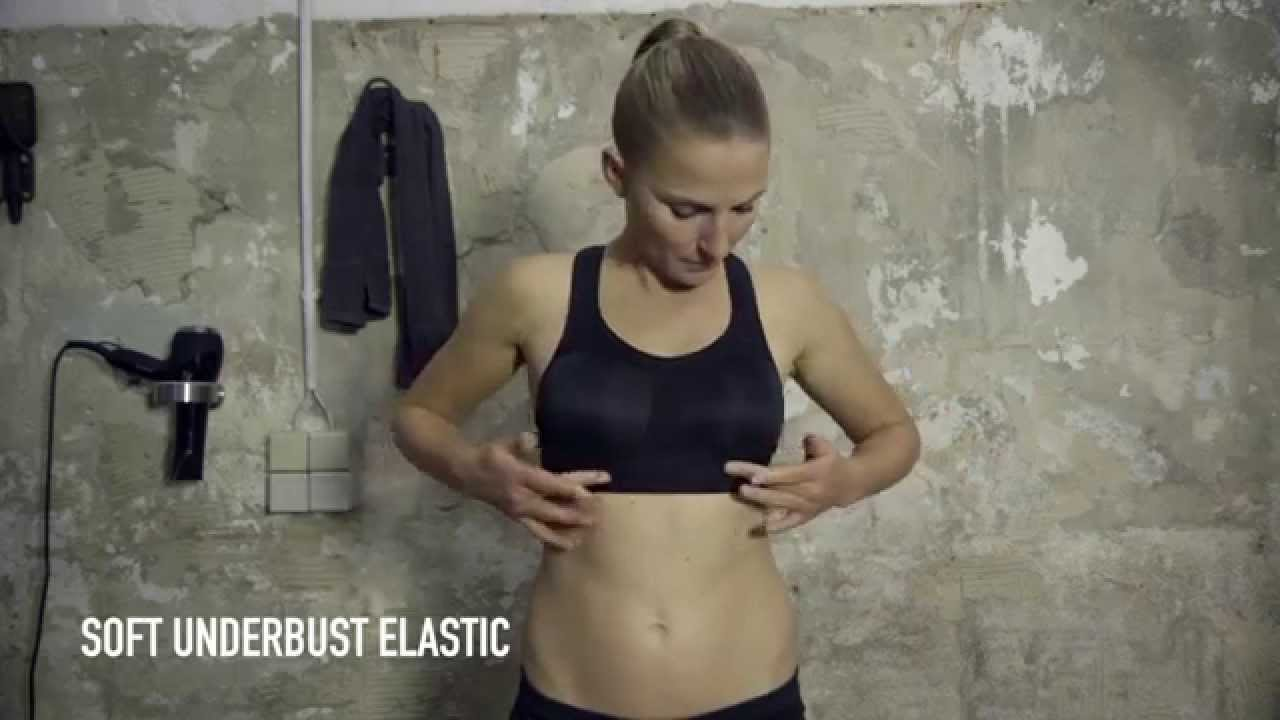 7abbcd9afa Ultimate High Support - Sports Bras by Odlo - YouTube