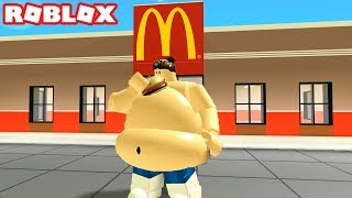 GETTING FAT IN ROBLOX EATING SIMULATOR