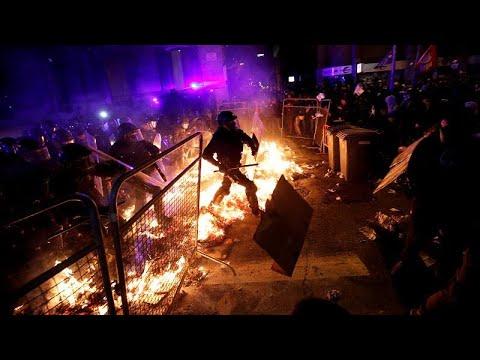 Каталония в огне:
