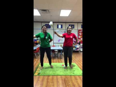 เต้นประกอบเพลงใครหนอ เด็กอนุบาล