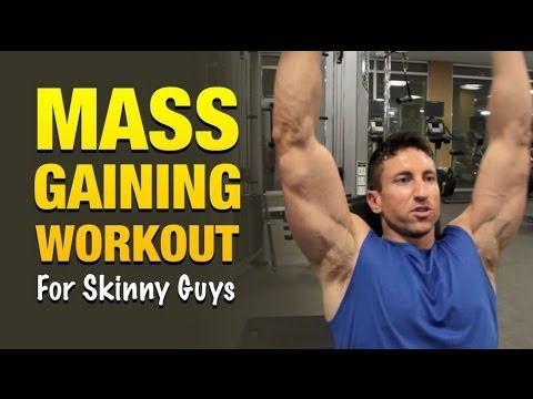 Mass Gaining Workout For Skinny Guys Bulk Up Faster Using This
