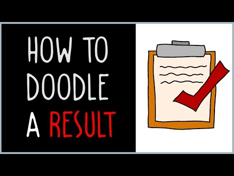How to Draw a Result (drawing tips)