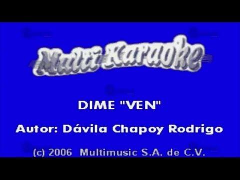 Multi Karaoke- Dime Ven