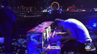 Coldplay (HD) - Politik (Rock In Rio 2011)