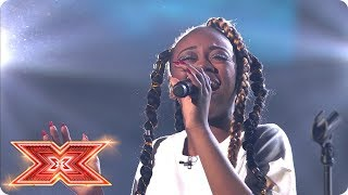 Rai Elle Williams is not ready to go! | Live Shows | The X Factor 2017