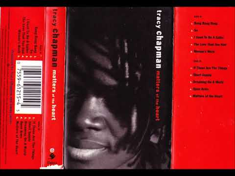 Tracy Chapman - Matters of the heart - 1992 - CASSETTE Album