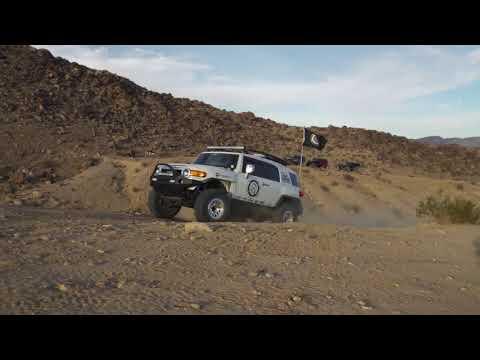 Rockstar Garage Overland Team Invades Johnson Valley!
