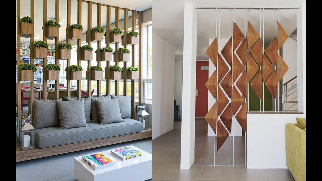 95 Creative Modern Wooden & Metal Room Divider Partition ...