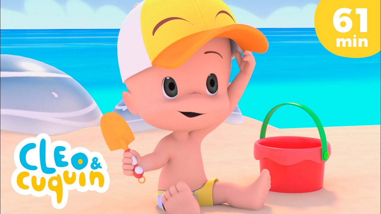 Let's go to the beach and more Nursery Rhymes by Cleo and Cuquin | Children Songs