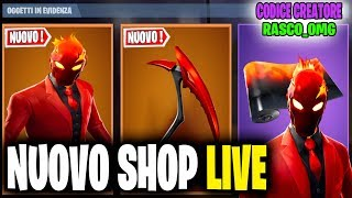 NETWORK SERVER FORTNITE ITA LIVE SHOP 25 APRIL 2019 - A 50 ABBONATI REGALO SKIN 43/50!