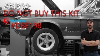 67' Mustang Disc Brake Conversion - Do Not Buy This One