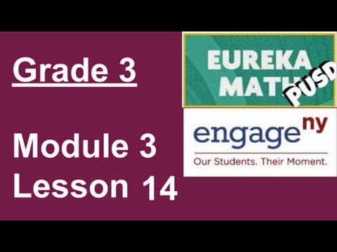 EngageNY Grade 3 Module 3 Lesson 14 - YouTube