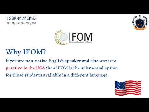 IFOM – International Foundations of Medicine exam   English