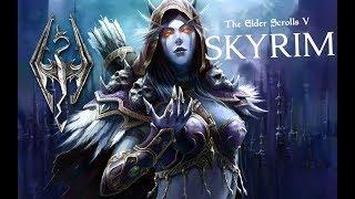 TES5 Skyrim-Обзор на моды #14 Сильвана Ветрокрылая из Варкрафта +её броня отдельно