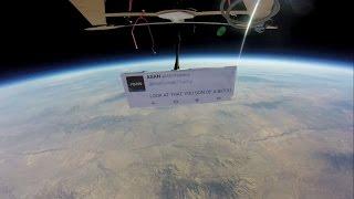 شاهد...أول احتجاج ضد ترامب في الفضاء