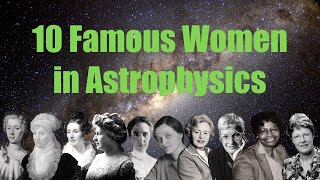 Famous Female Astronomers