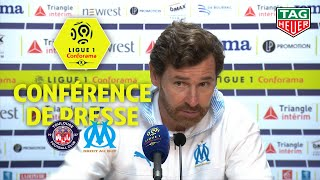Conférence de presse Toulouse FC - Olympique de Marseille (0-2) / 2019-20