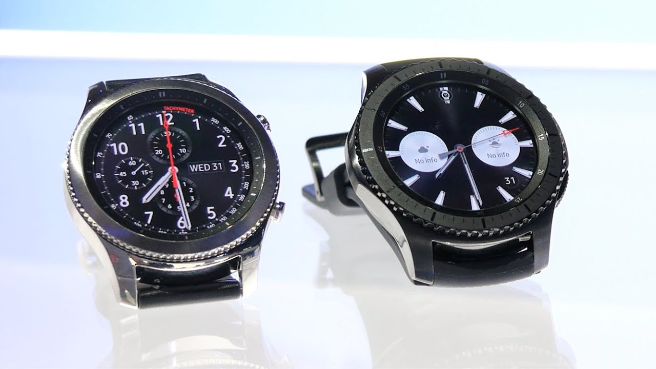 how to get gmail on samsung gear s3 frontier