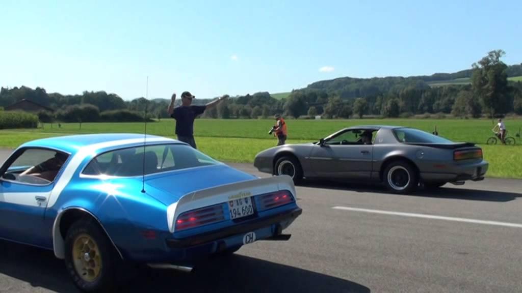 3rd Gen Camaro Body Kit >> 2nd vs. 3rd Gen Trans Am, All Pontiac Day 2009 - YouTube