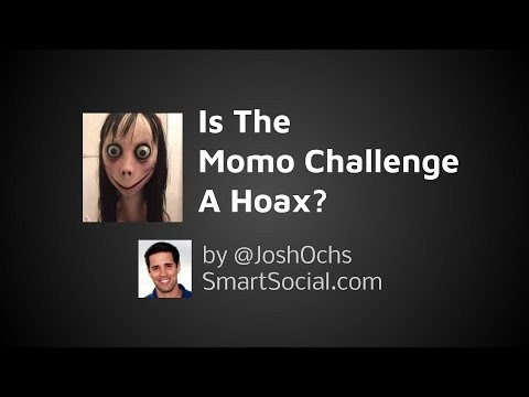 Momo Challenge a Hoax?  #Trend