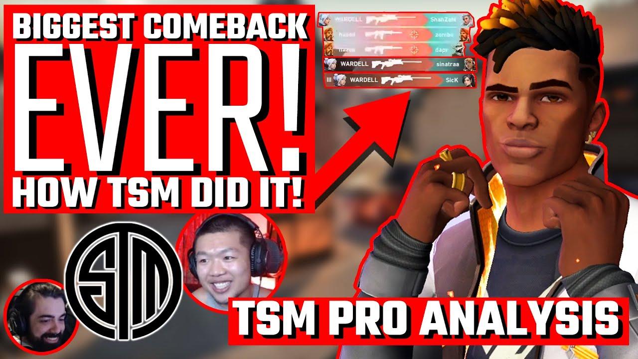 The Return of TSM! - Biggest Pro Valorant Comeback EVER!