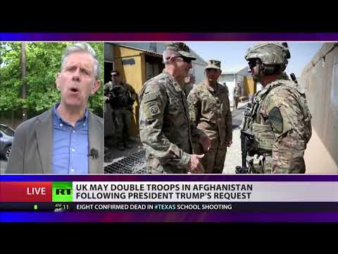UK may double troops in Afghanistan following Trump's request