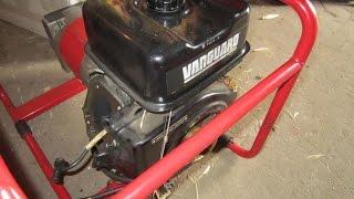 2-Жөндеу бензогенератора қозғалтқышпен Vanguard (инородное тело жану камерасында)