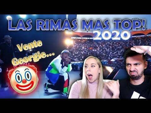 MI NOVIA REACCIONA A LAS MEJORES RIMAS DE 2020 [Hasta Ahora]