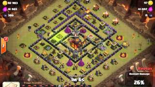 Clash of Clans - Amos - The Black Lodge - TH10 GoLava - Three Star (Ep. 5)