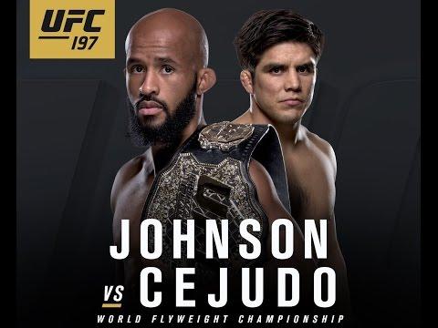 UFC 197: Previa Johnson vs Cejudo