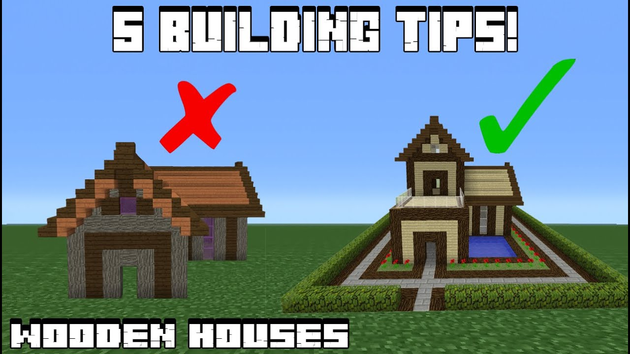 House Building Tips 5 Wooden House Building Tips  Youtube