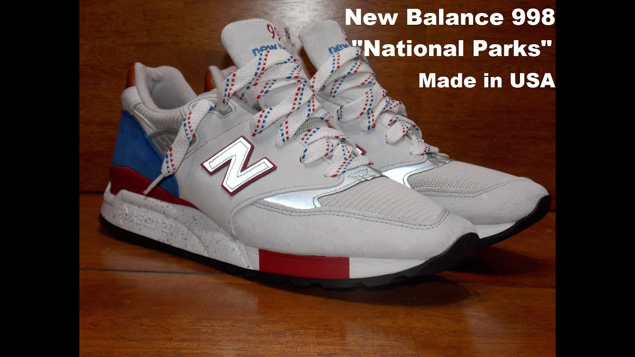 new balance national parks 998 area