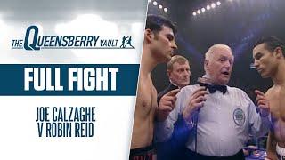 JOE CALZAGHE v ROBIN REID (Full Fight) | WBO WORLD SUPER MIDDLEWEIGHT TITLE | THE QUEENSBERRY VAULT