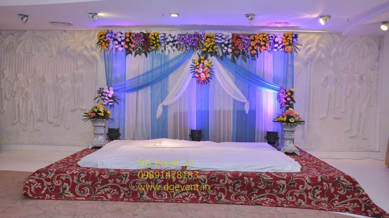 Exceptional Wedding Flower Decorations In Lotus Banquet Bikanerwala Gurgaon Sector 29  Gurugram