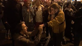 Eagles Fan Proposes to Girlfriend While Philadelphia Celebrated Super Bowl Win thumbnail