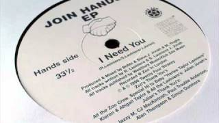 Julian Jonah / Bobbi & Steve - I Need You - Join Hands EP
