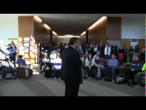 Chris Christie: #TellingItLikeItIs Town Hall at Drake University Law School in Des Moines, IA