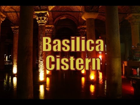 Visiting the Basilica Cistern in Istanbul, Turkey (Yerebatan